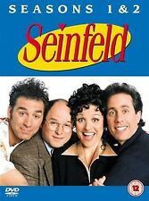 SEINFELD Complete Series 1 2  (2004) Jerry Seinfeld, Julia Louis NEW UK R2 DVD