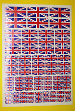 RC UNION JACK stickers decals, RC cars Aircraft Helicopter slot cars etc