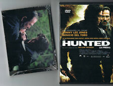 "DVD VIDEO: ""THE HUNTED (LA PRESA)   + POSTALES DE ESCENAS DE LA PELICULA"