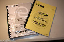WORKSHOP MANUAL YAMAHA YZ125H 1981