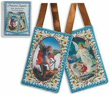 Saint Michael / Guardian Angel Scapular (TS395) NEW