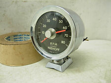 RARE 1960s NEIHOFF 8K PEDESTALL TACHOMETER 8 6 4 CYLINDERS AMC CHEVY FORD MOPAR