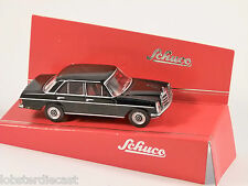 Schuco MERCEDES 200 D in Black - 1/64 scale model