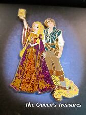 Disney D23 Expo Designer Fairytale Couples Tangled Rapunzel and Flynn pin LE 250