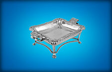A GEORGE III PAUL STORR SILVER ENTREE DISH,1-2, 1st MARQUESS OF ORMONDE