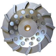 "7"" Pro.Turbo Diamond Cup Wheel Concrete Stone Masonry Grinding 5/8-7/8-BEST"
