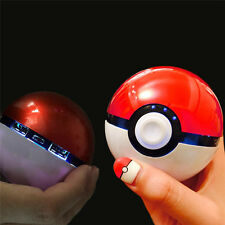 Pokemon Go Pokeball Power Bank 12000 Mah Chager With LED Light Portable Battery