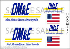 HO SCALE CUSTOM DAKOTA MINNESOTA & EASTERN RAILROAD DECALS HODME10