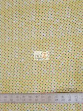 ABC PALS YELLOW DOTS BY PINS AND NEEDLES FABRI-QUILT INC COTTON FABRIC  FH-1488
