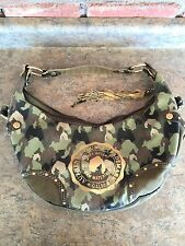 Authentic G-Unit Trademark by 50 Cent distressed Camo camouflage purse handbag