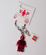 Lego 853303 VIP Exclusive Red Chrome Valentine's Day Minifigure Key Ring Chain
