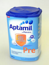 9 x 800g Aptamil PRE * from birth * Baby food formula * German milk * Germany *