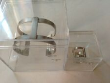 Karl Lagerfeld for H&M from 2004 totally Rare Bracelet S/M and 1 ring M