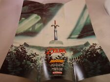 The Legend of Zelda A Link to the Past Super Nintendo SNES Foldable Poster