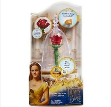 DISNEY BEAUTY AND THE BEAST LIVE ACTION FILM ENCHANTED ROSE JEWELRY BOX Light Up