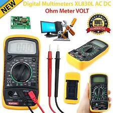 Digitale multimetro voltmetro amperometro AC DC OHM correnti del circuito Tester BUZZER UK