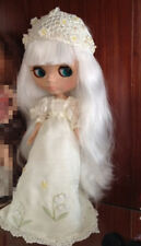 "12"" Neo Nude  White hair Blythe doll From Factory  JSW26012-2+Gift"