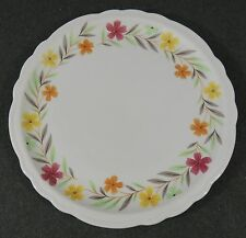"Sterling Vitrified China Restaurant Ware 9 1/4"" Salad Lunch Plate Scallop Edge"