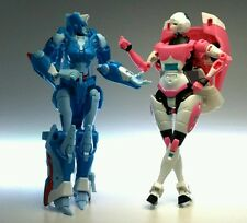 Transformers Generations Arcee and Chromia Fembots BNIB