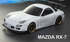 1:10 Lexan Body Karosserie Mazda Rx-7 190MM CLEAR