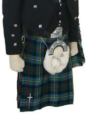Scottish | Macleod of Harris Tartan Heavy Kilt & Kilt Pin | Geoffrey