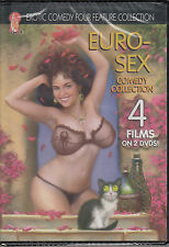 EURO-SEX COMEDY COLLECTION, PUSSY CAT SYNDROME,THE SINFUL BED,LOVE CAMP