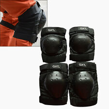 Motorcycle Knee Elbow Pads Set Motorbike Racing Body Armor Safety Guard Gear