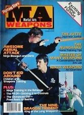 6/87 MA WEAPONS ERIC LEE DOC FAI WONG BLACK BELT KARATE KUNG FU MARTIAL ARTS