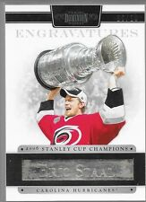 11/12 Dominion Engravatures Eric Staal /10 6 Hurricanes