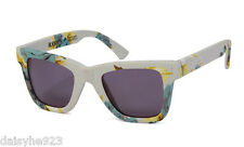 RODARTE+OPENING CEREMONY woman'S sunglasses FLORAL CLOTH DARK GRAY LENS GREEN