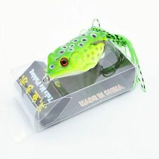 1pcs/lot Frog & Box Bass Fishing Lures 6cm/12g Soft Plastic Bait Tackle Topwater