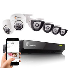 8CH DVR Home Security Video System 2 Indoor + 4 Outdoor Cameras Day Night Vision