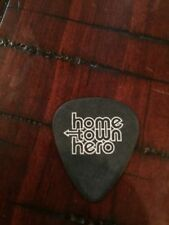 HOME TOWN HERO STAGE USED GUITAR PICK! RARE! 2000 - 2002