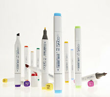 COPIC TWIN TIP GRAPHIC INK MARKER PEN - 12 PACK - PICK YOUR OWN COLOURS!