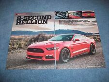 "2015 Mustang GT Drag Car Article ""8-Second Hellion"""