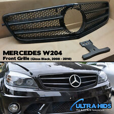 XB Grille For Mercedes W204 C Class Coupe Gloss Black Honeycomb 2008 - 2010 UK