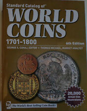 Standard Catalog of World Coins 1701-1800 inglés 6th Edition ~ última edición