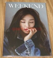 TIFFANY GIRLS' GENERATION WEEKEND THE AGIT CONCERT GOODS PHOTO NOTEBOOK NOTE NEW