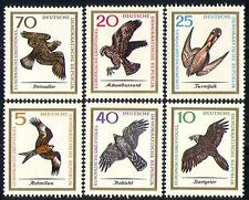 Germany 1965 Birds/Nature/Raptors/Eagle/Kite 6v  n29909