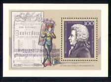 Germany 1991 Mozart/Music/People 1v m/s (n27845)
