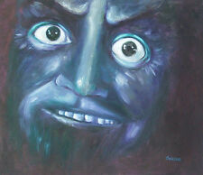 WITH APOLOGIES TO MR. HYDE OF NIGHT GALLERY HAND OIL PAINTING