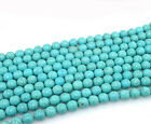 20/30/50/100Pcs Precious Natural Turquoise Gemstone Loose Beads 4/6/8/10mm