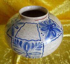 Keramik-Ziervase Blumentopf , Villeroy & Boch, Mettlach, Mitte 20. Jh.