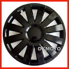 "Wheel trims for VW Volkswagen Polo Golf 4 x 14"" full set black matt 14''"