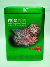 FH-G1 Flower Horn Fish Feed - 120gm - Ocean Free Pro Head Food  - Aquarium Tank