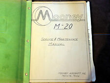 Mooney M-20 Service & Maintenance Manual