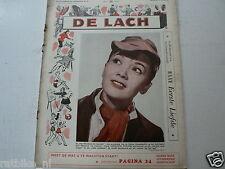 DE LACH 1958 NR 36 LISELOTTE PULVER,MAMIE VAN DOREN,ANNE HEYWOOD,LANG,ADAMS,RAKI