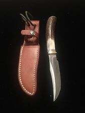 Randall Made Knives Model 8-4x Trout And Bird