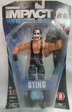 WWE TNA Deluxe Impact Wrestling Series 8 Joker Sting Action Figure SEALED- Jakks
