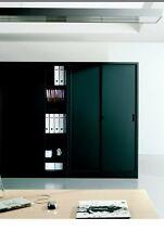 Mobile armadio archivio da ufficio in metallo col.antracite mis. 180x45x200
